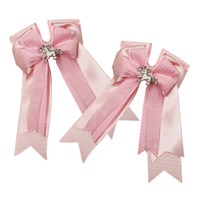 Belle & Bow Show Bows, Ribbons Pink