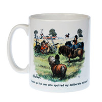 Thelwell 'Deliberate Mistake' Mug in Box