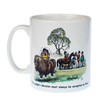 Thelwell 'Judges Decision' Mug in Box