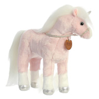 "Breyer Plush by Aurora, 13"" Pink Unicorn, Aurora"