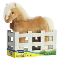 "Breyer Plush by Aurora, 13"" Palomino Morgan Horse"