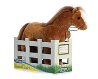 "Breyer Showstoppers Plush by Aurora, 13"" Quarter Horse"