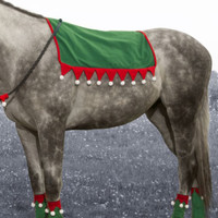 Holiday Horse Wear, Elf Saddle Pad Cover