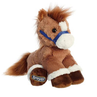 "Breyer Plush by Aurora, 11"" Chestnut Horse"