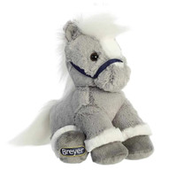 "Breyer Plush by Aurora, 11"" Grey Horse"