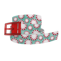 C4 Mint to Be Peppermint Belt and Red Buckle