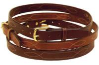 Tory Fancy Stitched Belt