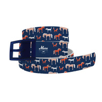 C4 Mare Modern Goods Foxy Dog Belt and Navy Buckle