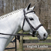 Bobby's Signature Padded, Wide Noseband, Contour Crown, Fancy Bridle