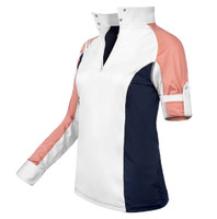 Kathryn Lily Tuxedo Block Competition Shirt, Set Sail (Navy/Pink)