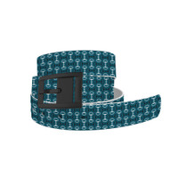 C4 Teal Bits Belt and Black Buckle