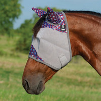 Cashel Crusader Fly Mask, Std with Ears, Freedom, 4 Sizes