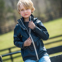 Horseware Kids Navy Rain Jacket