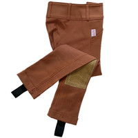 Tailored Sportsman Girls Trophy Hunter Jods, Rust, Front Zip, Sizes 2 - 16