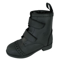 Belle & Bow Velcro Closure Paddock Boots, Little Kids Sizes 6 - 12