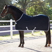 "Amigo Pony Jersey Cooler, Navy with Silver,  51"" - 69''"