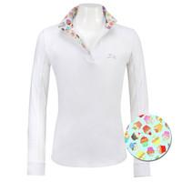 RJ Classics Maddie Jr 37.5 Shirt, White with Cupcakes, XXS - L