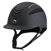 One K Defender Rose Gold Stripe Helmet