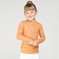 EIS (Equi In Style) COOL Shirt, Children's Leadline, Apricot