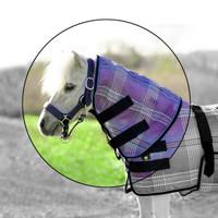 Kensington Miniature Horse Protective Neck Piece, Lavender Mint
