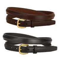 "Tory 3/4"" Raised Belt, Black or Havana, 24"" - 32"""