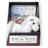 Jump the Moon Hardcover Book and Plush Pony Gift Set
