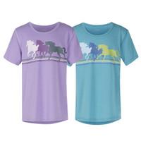 Kerrits Kids Pony Power Tee, Hyacinth & Maui