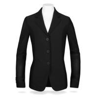R J Classics Harmony Jr MESH Show Coat, Black, Sizes 8 - 18