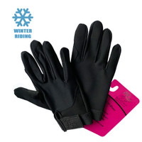 Belle & Bow Stretch Winter Show Gloves, Little Kids Sizes XS - L