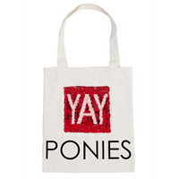 Horseware Ponies Tote Bag With Reversing Yay/Neigh Sequins
