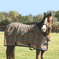 "Kensington Protective Fly Sheet, Deluxe Black Plaid, 50"", 54"" & 58"" Only"