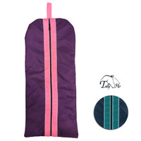 Tally Ho Fleece Lined Bridle Bag With Piping