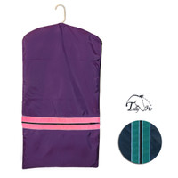 Tally Ho Childs Garment Bag With Piping