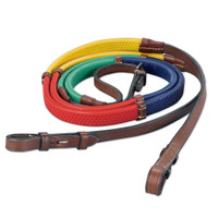 Kincade Rainbow Reins, Traditional Colors, 3 Sizes