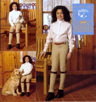 On Course Cotton Naturals Pull On Jodhpurs, Size 16 Only