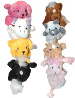 Plush Hair Scrunchies