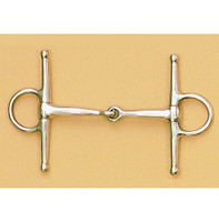 "Full Cheek Pony Snaffle 3.5"", 4"", 4.25"", 4.5"", 4.75"""