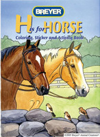 H is For Horse Coloring, Stickers & Activities