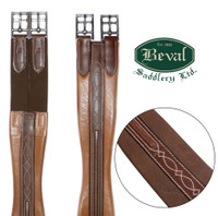 "Beval LTD 2 RaisedFancy Stitched Girth, 48"" Only"