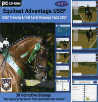 Equitest Advantage USEF (CD) 3D Interactive Dressage