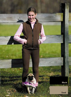 TuffRider Unifleece Pull On Breech, Chocolate, Size 10 Only