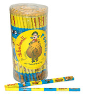 Thelwell Cartoon Blue/Yellow Pencil