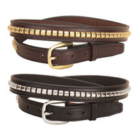 "Tory 1"" Clincher Belt, Black or Havana, 24'' - 32''"