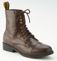 Saxon Equileather Lace Boots