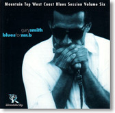 """Blues For Mr. B"" blues CD by Gary Smith"