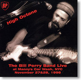 """""""High Octane"""" blues CD by The Bill Perry Band"""