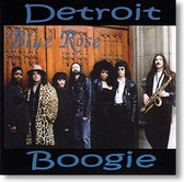 """Detroit Boogie"" blues CD by Blue Rose"