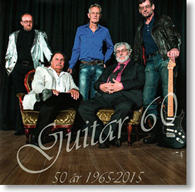 """""""50 Years 1965-2015"""" surf CD by Guitar 60"""