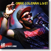 """Live At Rosa's Lounge"" blues CD by Omar Coleman"
