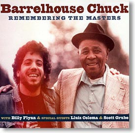 """""""Remembering The Masters """" blues CD by Barrelhouse Chuck"""